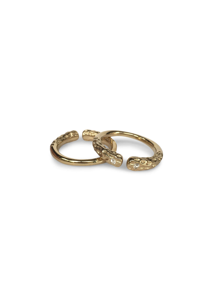 DEAN TWINS Ring Set · Gold · Rose Gold · Silver