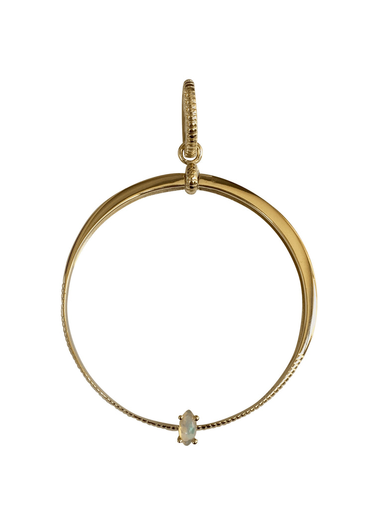 JAX | Opal | 2-in-1 Hoops (pair)