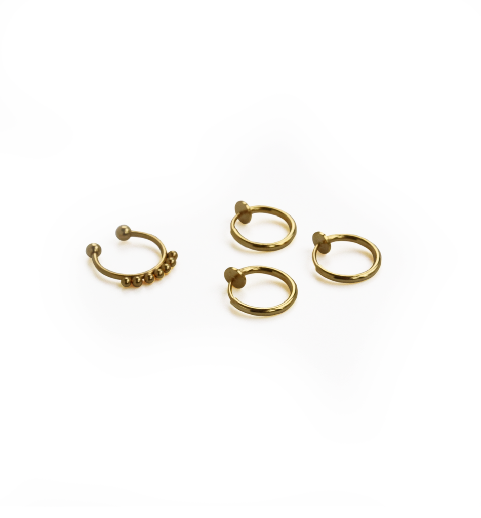 GIA | Gold | Ear cuff set