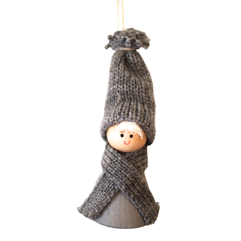 Santa Hadar hanging decor Grey