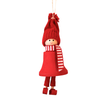 Santa Fride hanging decor Red
