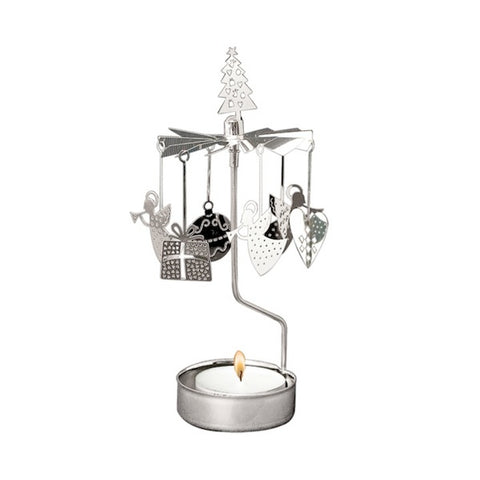 Rotary Candle Holder Christmas decor