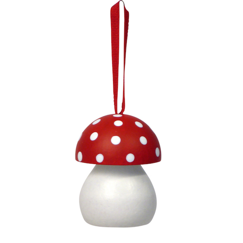 Mushroom hanging decoration