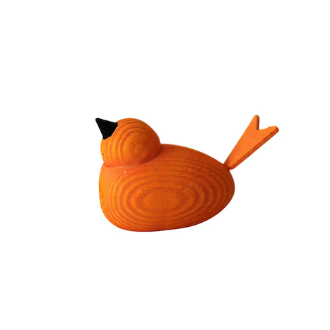 Bird Small Orange