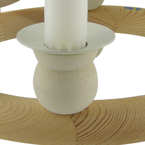 Candlecollar Large White