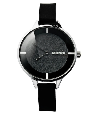 Monol Watch 3G Mille Black/Silver