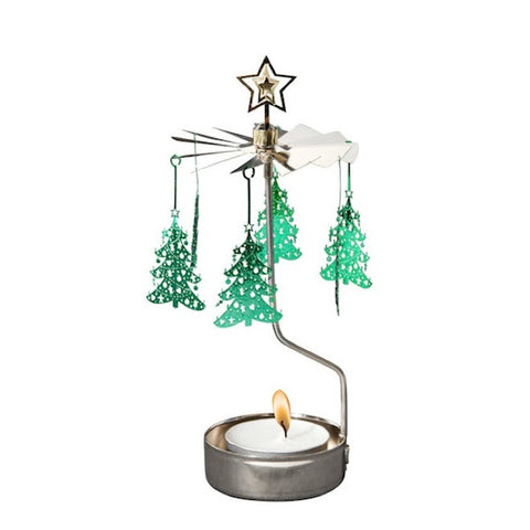 Rotary Candle Holder X-mas Tree