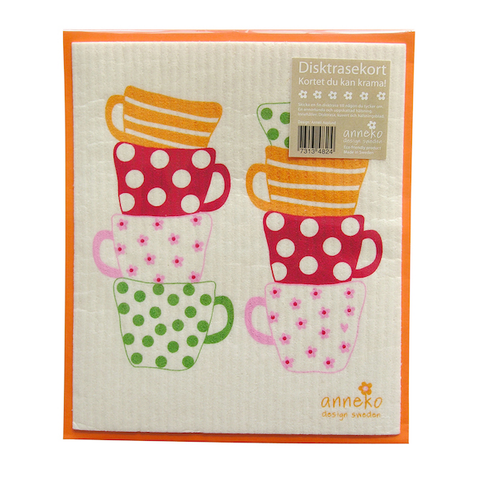Dishcloth Card Mugs