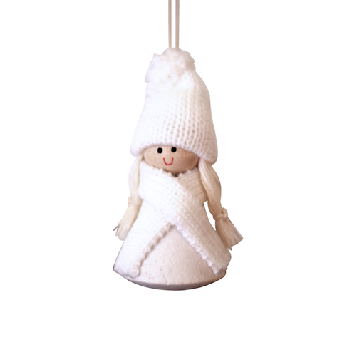 Santa Hedda hanging decor White