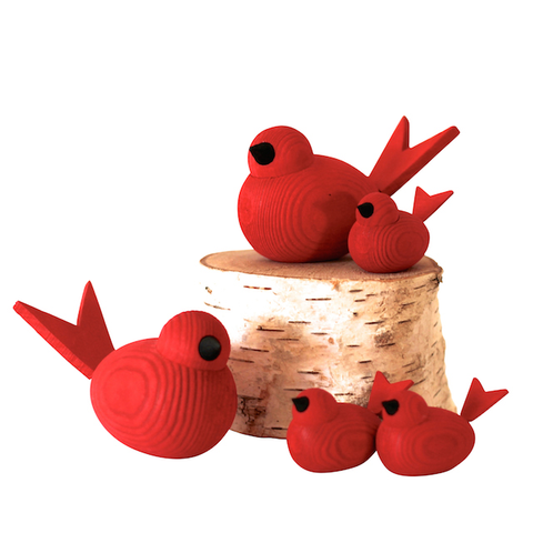 Bird Small Red