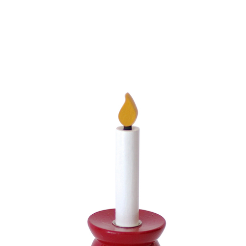 Candle timber Small White