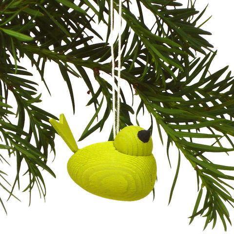 Bird hanging lime