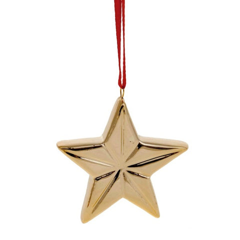 Ceramic hanging decor Star
