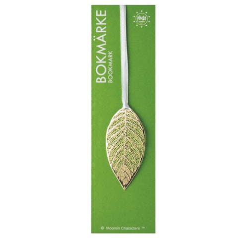 Bookmark Leaf Gold