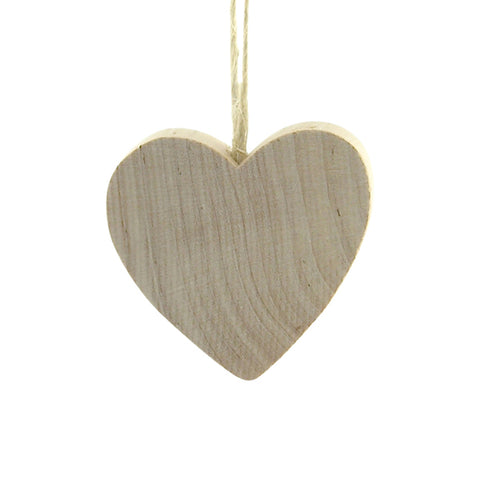 Heart Medium hanging decor Natural/Twine