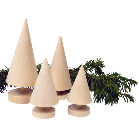 Christmas tree Cone Natural