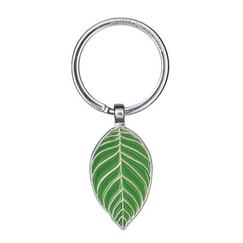 Keyring Leaf Green