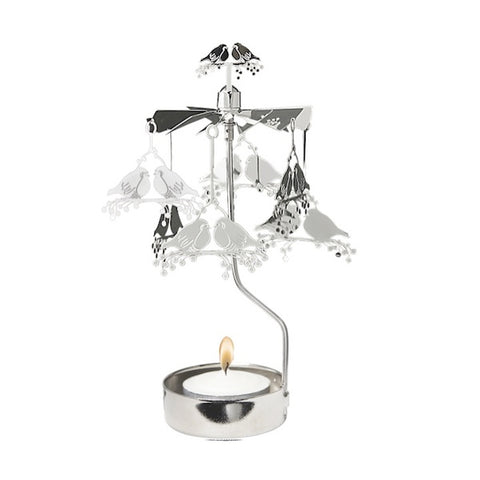 Rotary Candle Holder Robin