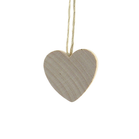 Heart Mini hanging decor Natural/Twine