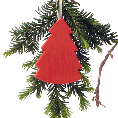 Hanging Christmas tree Red