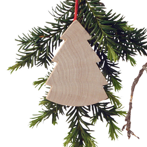 Hanging Christmas tree Natural/Red