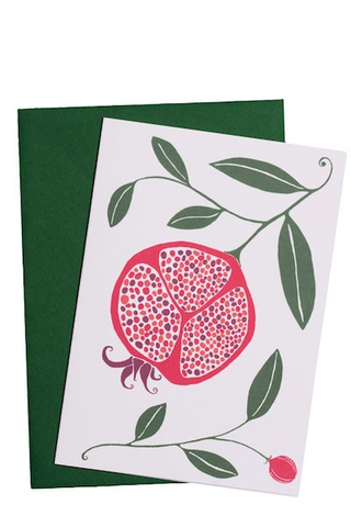 Card Pomegranate