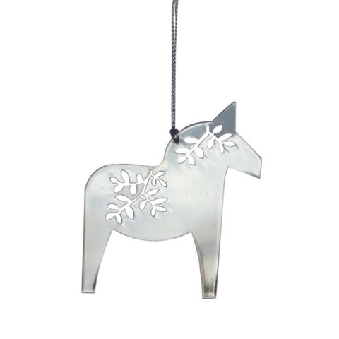 Shiny Hanging Decor Horse