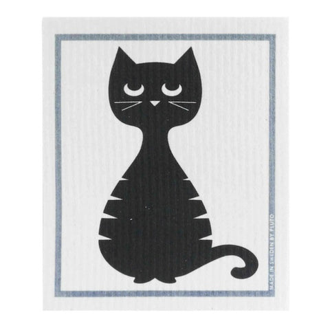 Dishcloth Dodgy Cat