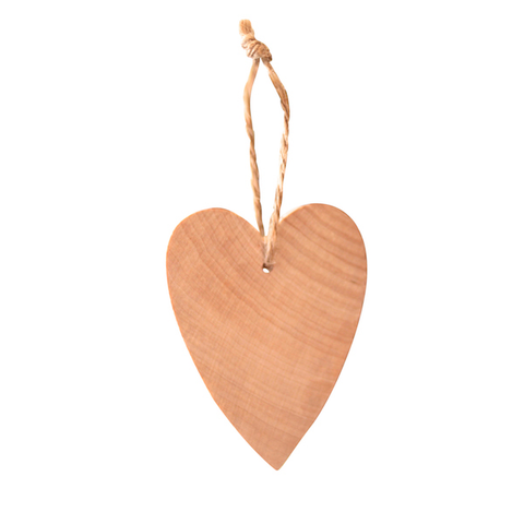 Heart Small hanging decor Natural/Twine