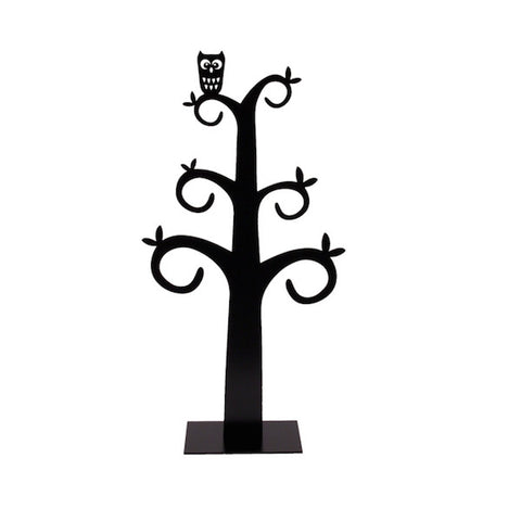 Jewellery decor tree Owl