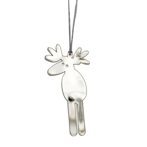 Shiny Hanging Decor Moose