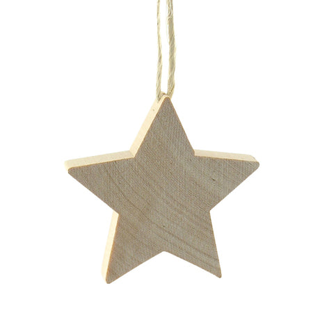 Star Medium hanging decor Natural/Twine