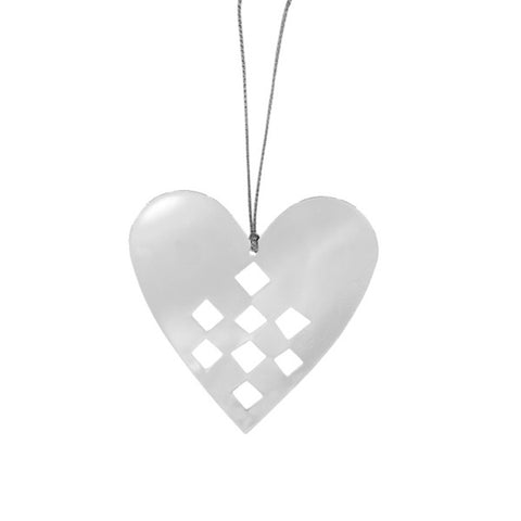 Shiny Hanging Decor Heart