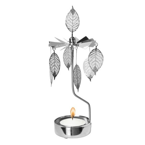 Rotary Candle Holder Leaf