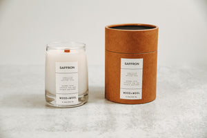 Luxe Wood Wick Candle | Saffron