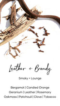 Load image into Gallery viewer, Wax Melt | Leather + Brandy