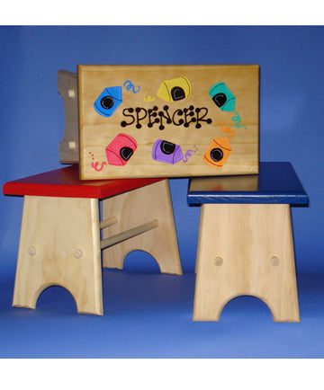Personalized Children's Stool by General Store of MInnetonka
