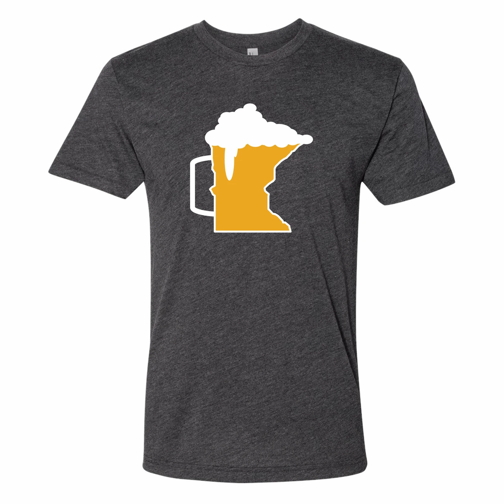 Beer Mug Minnesota T-Shirt by Minnesota Awesome