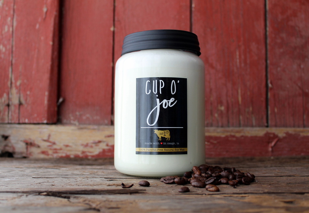 26 oz Cup O' Joe Candle by Milkhouse Candle co.