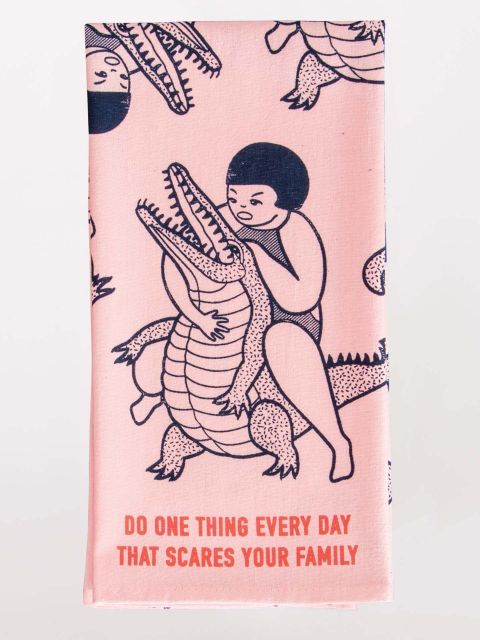 Do One Thing Every Day... Dish Towel by Blue Q
