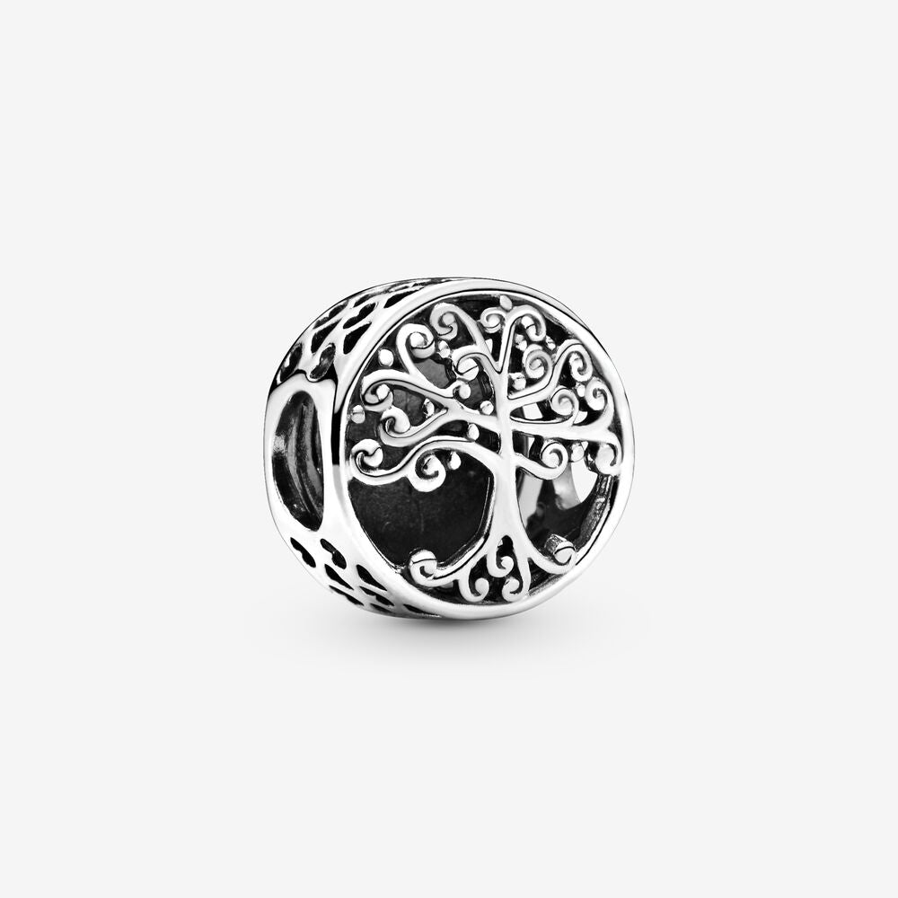 Open Work Family Roots Charm by Pandora