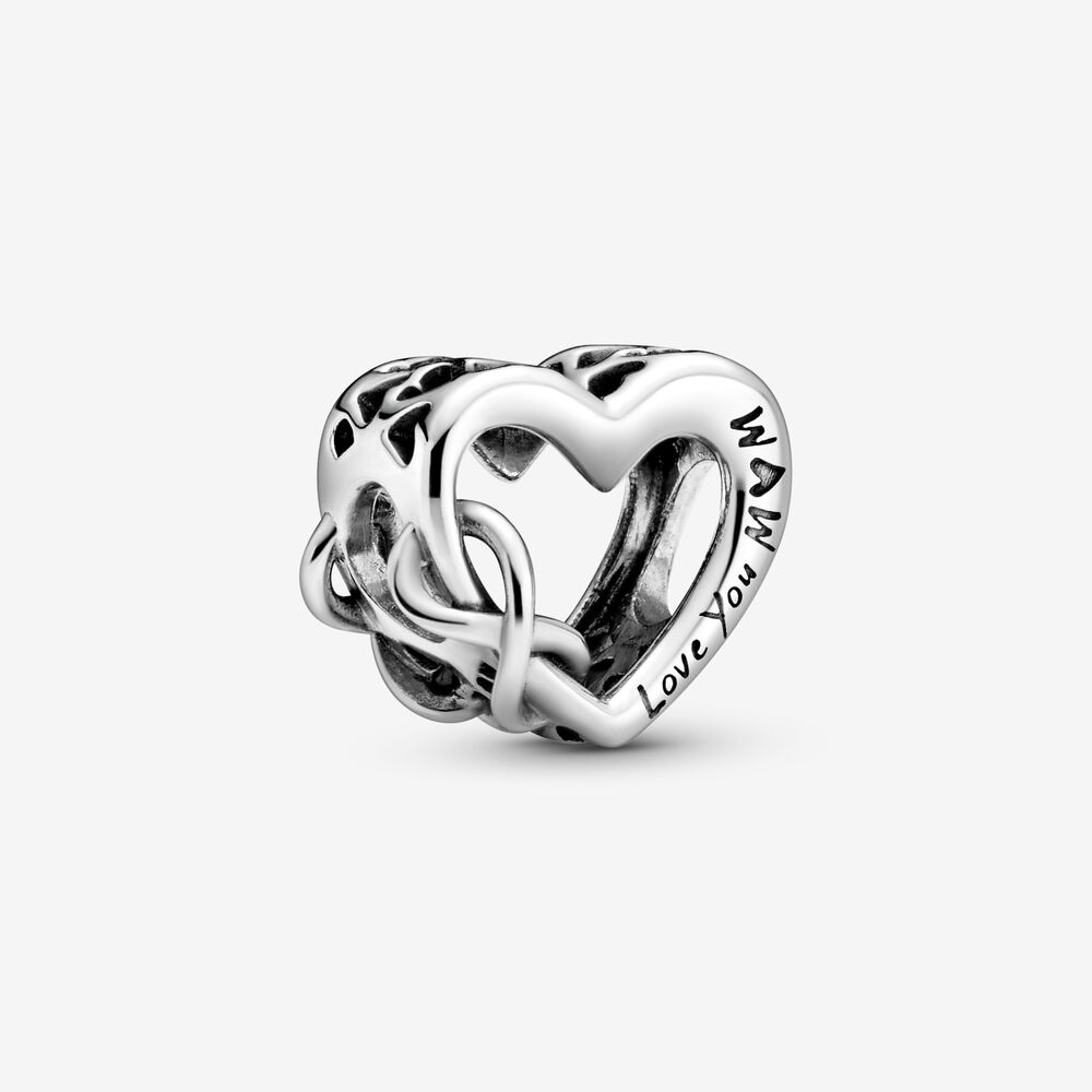 Love You Mum Infinity Heart Charm by Pandora