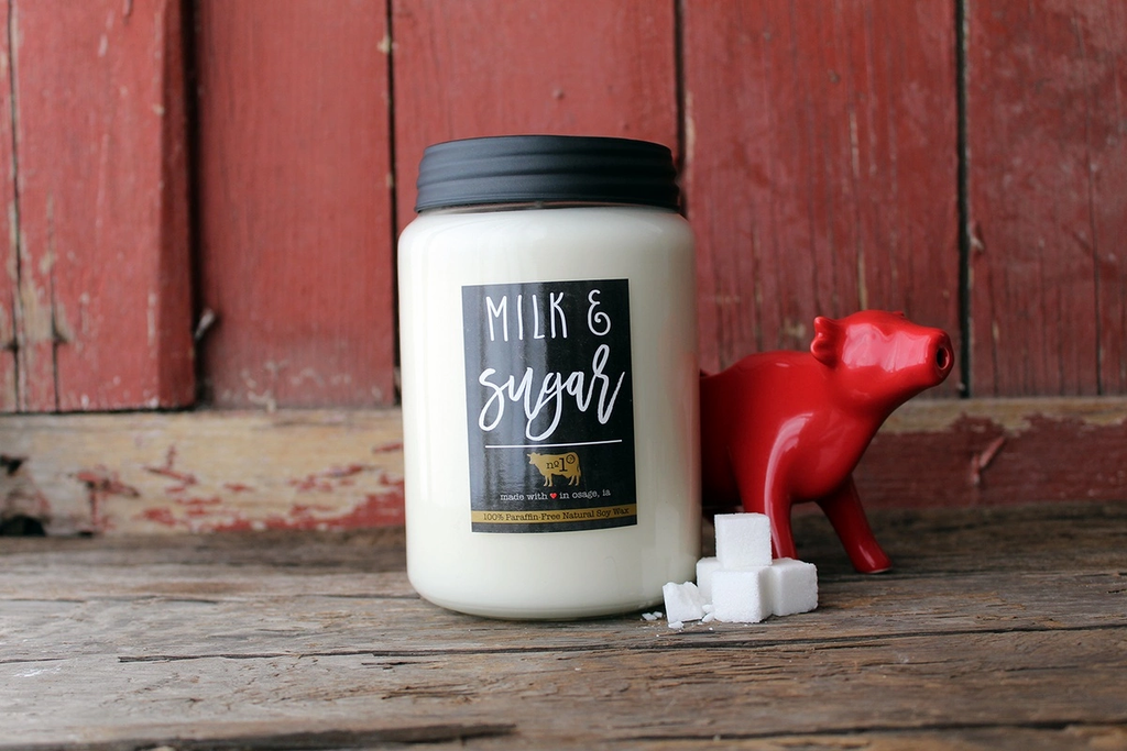 26 oz Milk & Sugar Candle by Milkhouse Candle co.