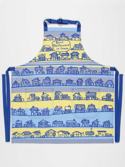 Best Restaurant In Town Apron by Blue Q