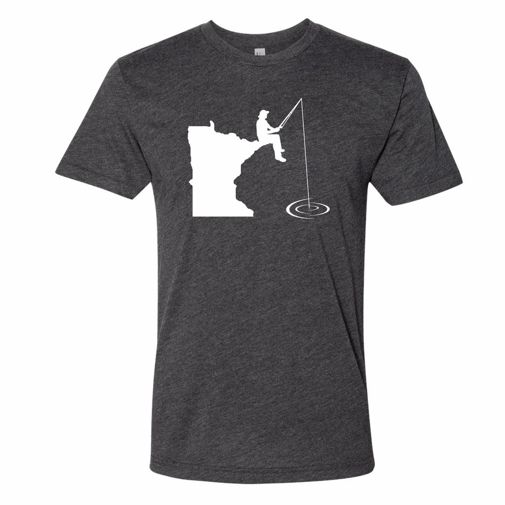 Minnesota Fishing T-Shirt by Minnesota Awesome