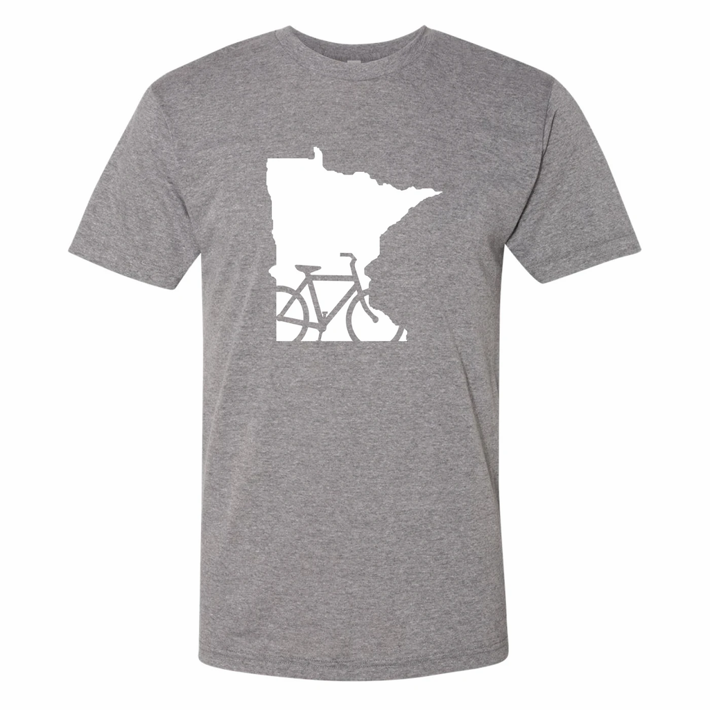 Bike Minnesota T-Shirt by Minnesota Awesome