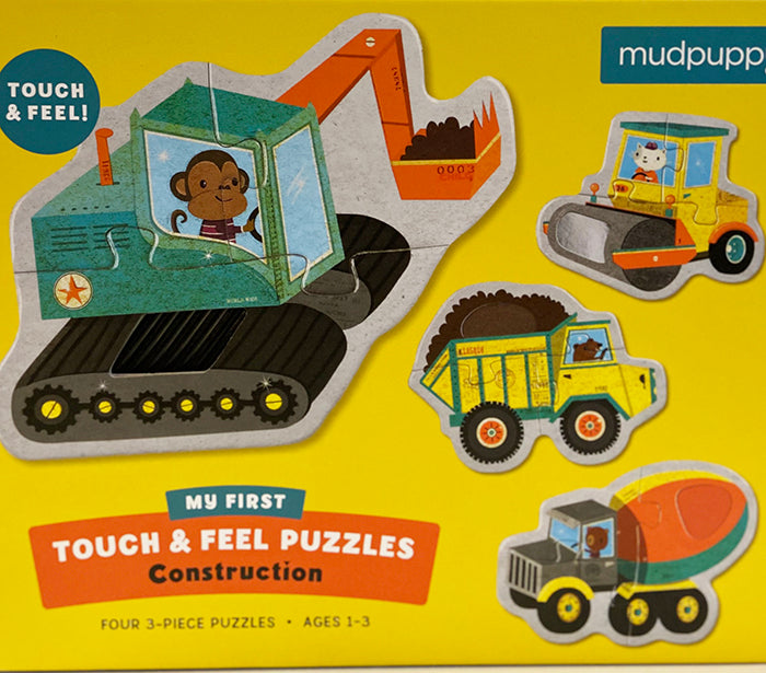 Construction Touch & Feel Puzzle