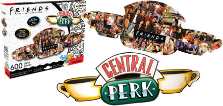 Friends Central Perk 600 Piece Puzzle
