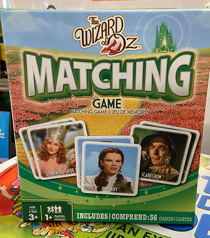 Wizard of Oz Matching Game