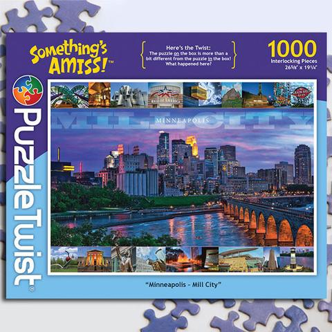 Minneapolis Mill City Puzzle 1000 pieces
